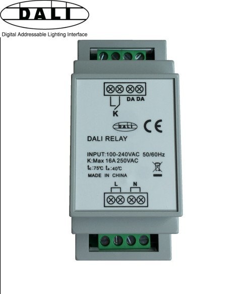 DALI switch relay