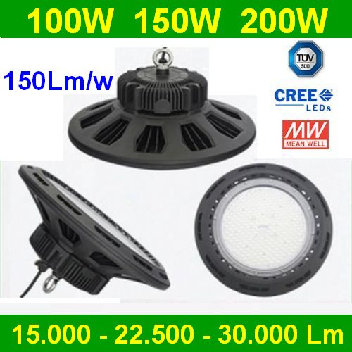 UFO HB 150W LED Industrial MW Driver Led