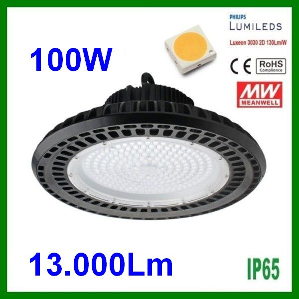 Bell 100W LED Industrial suspension